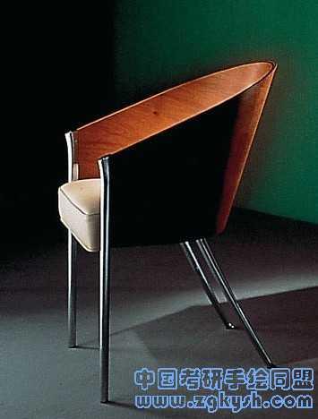 Philippe Starck座椅的设计实物照片