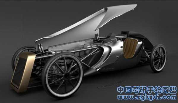 生态复古汽车设计