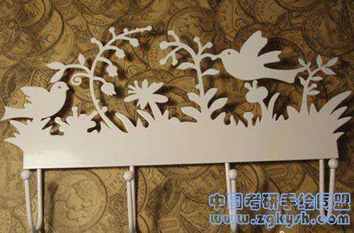 剪纸铁艺家品设计