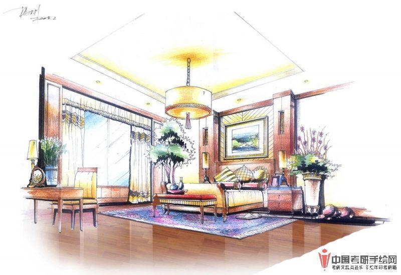 室内手绘高手作品欣赏