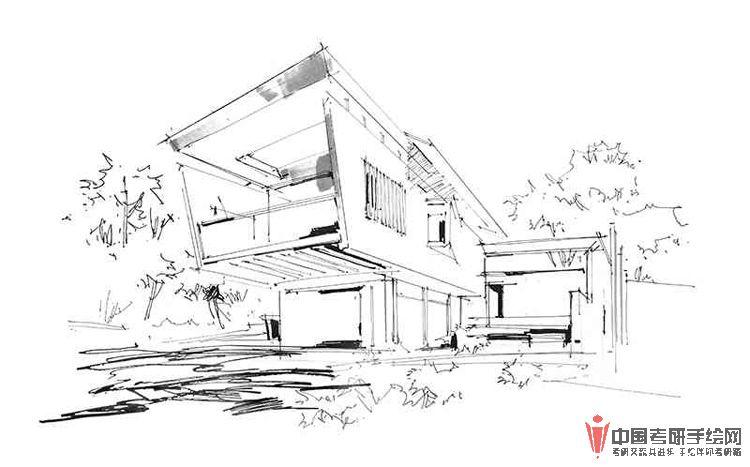 景观建筑手绘马克笔表现步骤图