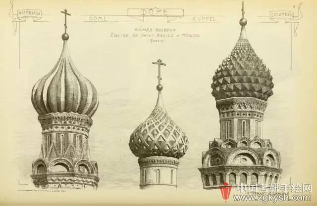 欧洲古典设计手绘作品集湖北,三本,志愿,作品集,欧洲