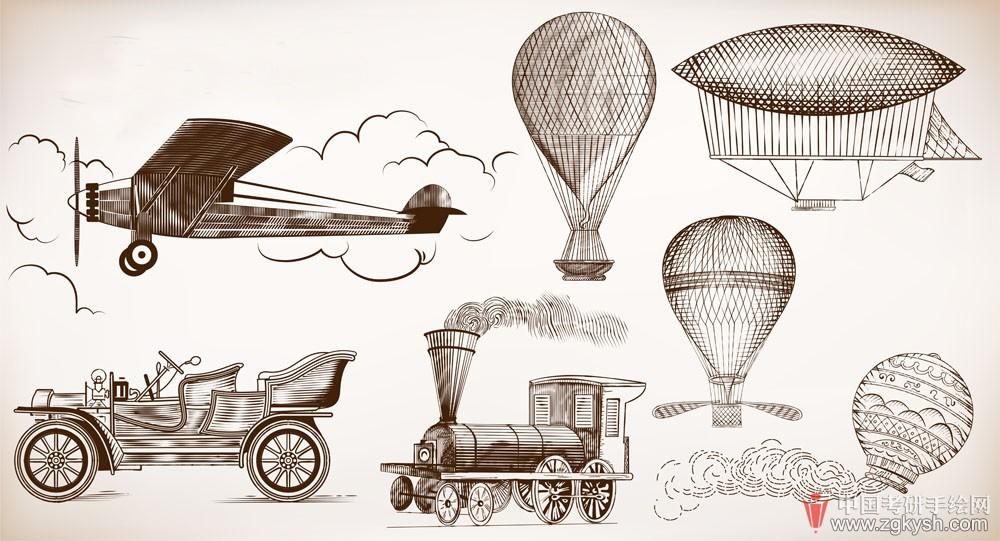 欧洲工业设计汽车火车设计手绘