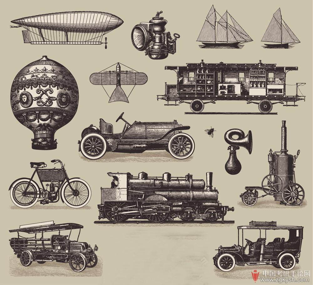 欧洲古典设计手绘作品集