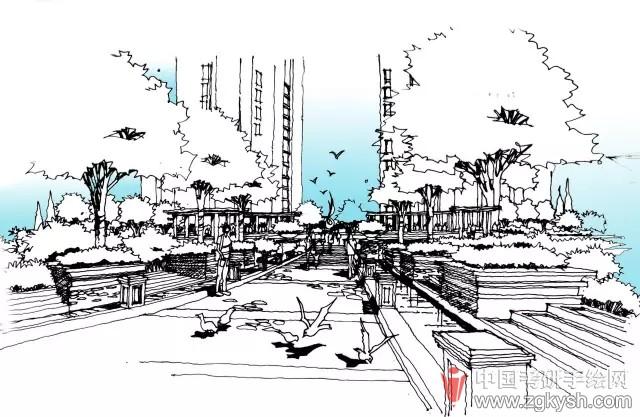 景观平面设计图ps展示