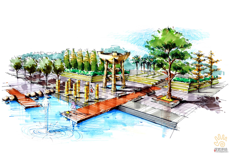 滨湖广场景观设计手绘.jpg