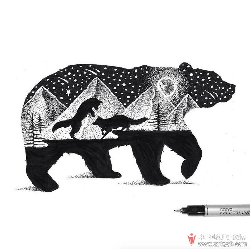 手绘效果图 69 视觉传达(平面)手绘