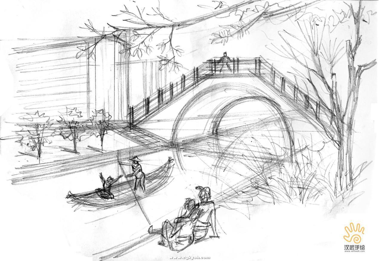 建筑景观马克笔上色步骤详解与案例——以学生训练稿为例 图片15.jpg