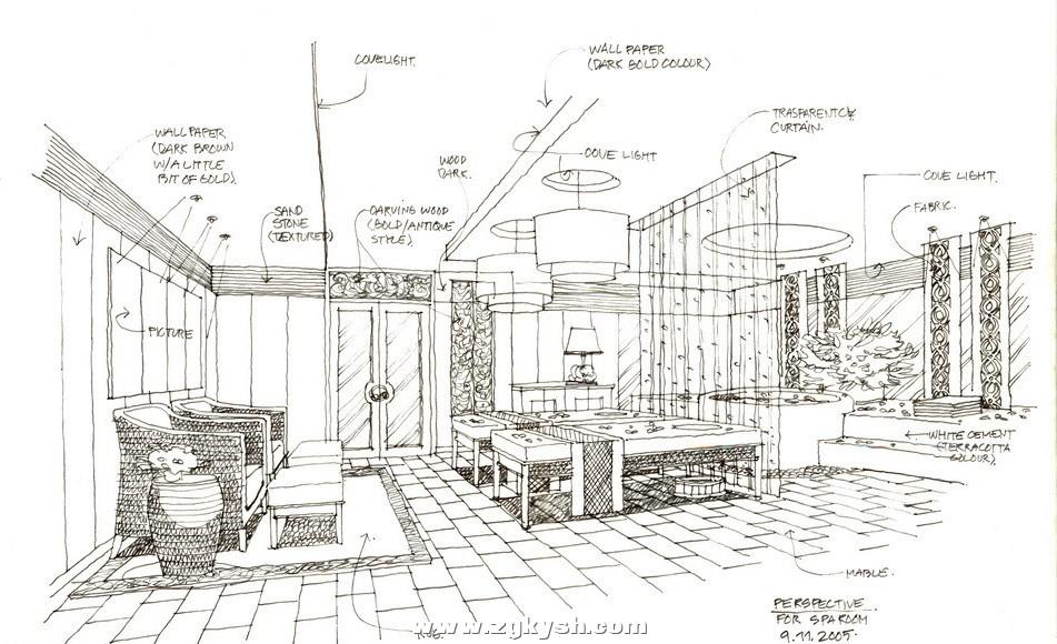 国外室内设计手绘效果图16 国外室内设计手绘效果图3.jpg