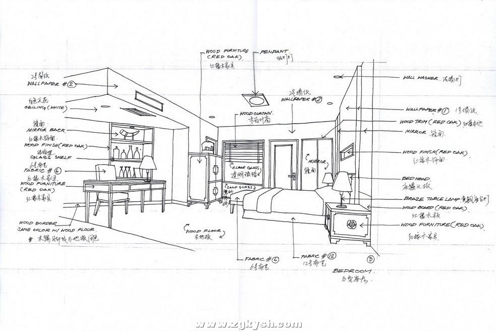 国外室内设计手绘效果图16 国外室内设计手绘效果图2.jpg