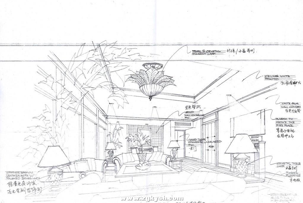 国外室内设计手绘效果图16 国外室内设计手绘效果图5.jpg