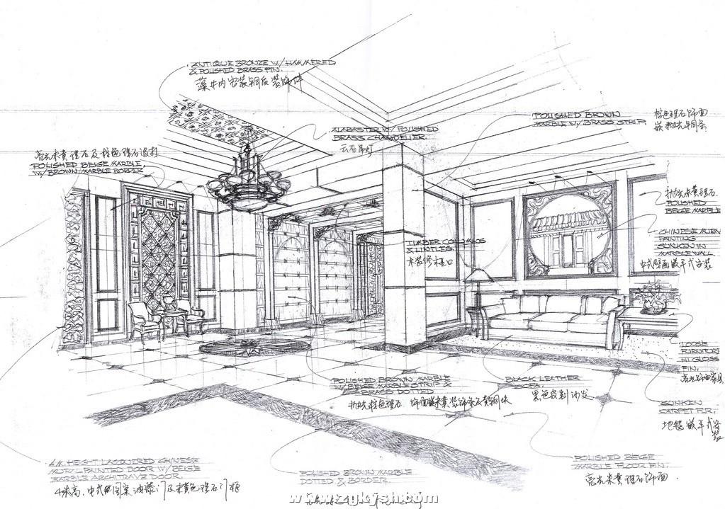 国外室内设计手绘效果图16 国外室内设计手绘效果图7.jpg